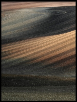Art print titled Moravian Lines by the artist Jakub Koziol