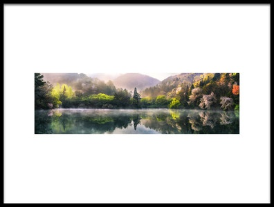 Buy this art print titled Morning Calm by the artist Tiger Seo