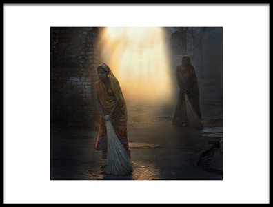 Art print titled Morning Duty by the artist Lou Urlings