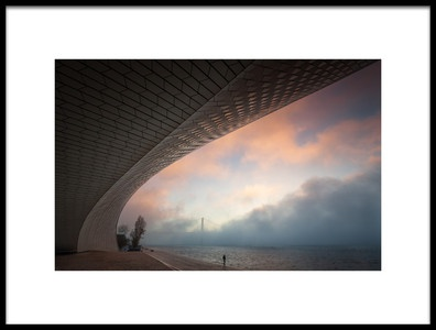 Buy this art print titled Morning Fog by the artist Jorge Feteira