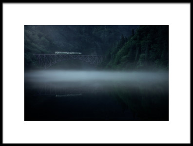 Buy this art print titled Morning Fog by the artist Takeru Watanabe