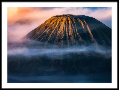 Art print titled Morning Mount Bromo by the artist Mengguo Li