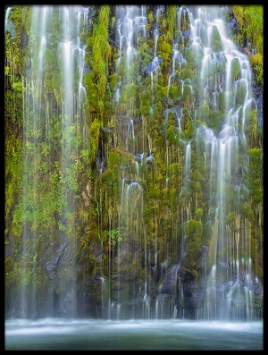 Buy this art print titled Mossbrae Falls by the artist Hua Zhu