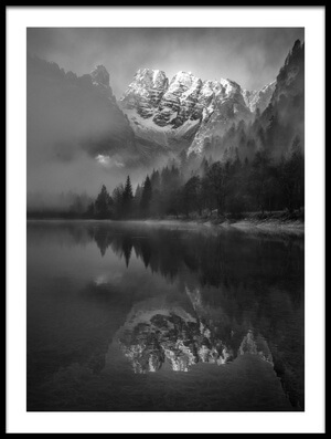 Buy this art print titled Mount Crystal by the artist Donald Luo