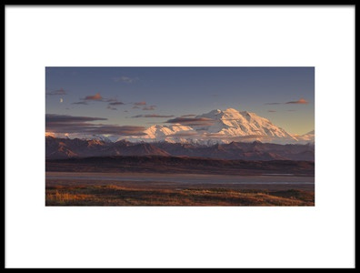Art print titled Mount Mckinley  Denali National Park by the artist Roberto Marchegiani