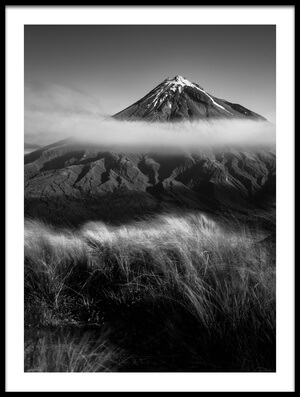 Buy this art print titled Mount Taranaki by the artist Wei He