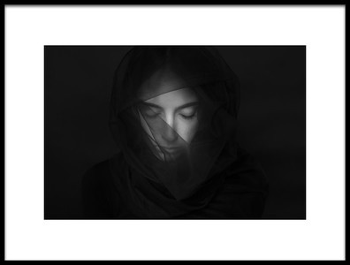Art print titled Mourning1 by the artist porannechodniki