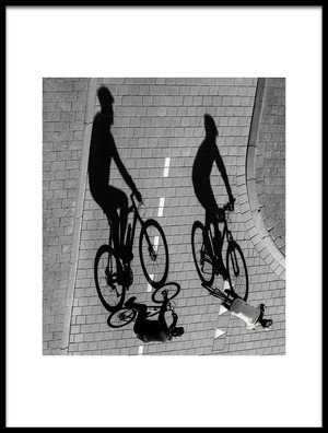 Buy this art print titled Moving Shadows by the artist Roelof de Hoog