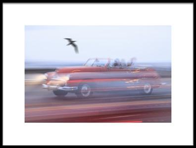 Art print titled Moving Street Car by the artist Svetlin Yosifov