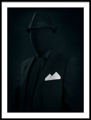 Buy this art print titled Mr Black by the artist Petri Damstén
