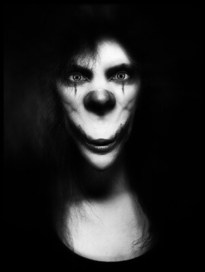 Buy this art print titled Mrs Joker by the artist holger droste