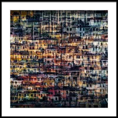Buy this art print titled Multi House #2 by the artist Roberto Marini