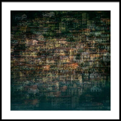 Buy this art print titled Multi House by the artist Roberto Marini