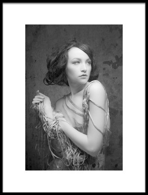 Art print titled Muse I by the artist Roy Lemme