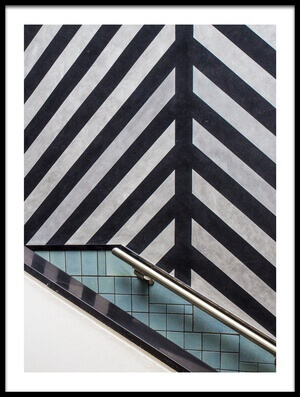 Buy this art print titled Museum Staircase by the artist Luc Vangindertael (laGrange)