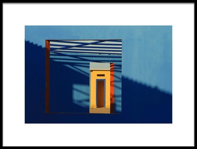 Art print titled My Perception of Abstract Geometry by the artist Luigi Chiriaco