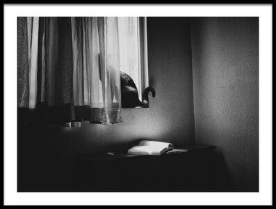 Art print titled My Room by the artist Babak Haghi