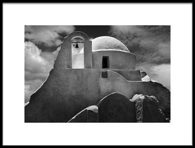 Buy this art print titled Mykonos Church by the artist John P Stein EFIAP/s, GMAPS
