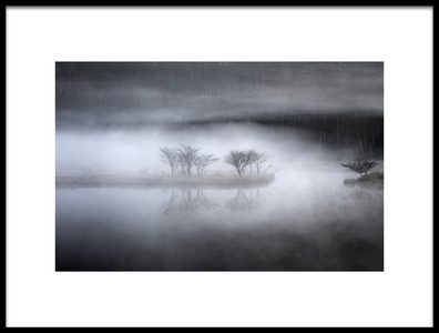 Buy this art print titled Mysterious Pond by the artist Teruo Araya