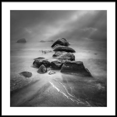 Art print titled Mysterious Stones  by the artist Joanna Maciszka