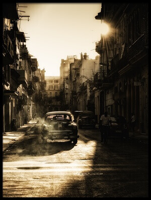 Buy this art print titled Mystic Morning In Havana by the artist Baris Akpinar