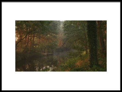 Art print titled Mystic River Dinkel by the artist Vincent Croce