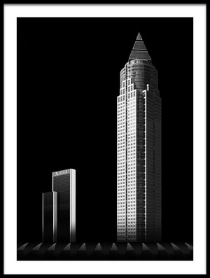 Buy this art print titled Mystic Skyscraper | 7320 by the artist hiacynta jelen