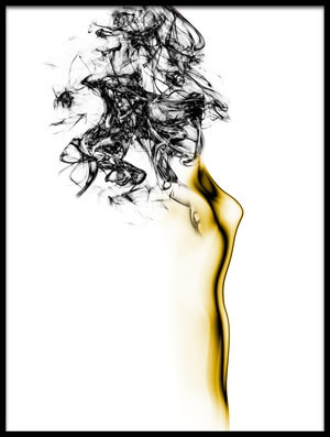 Art print titled Naked 2 by the artist Roberto Marini