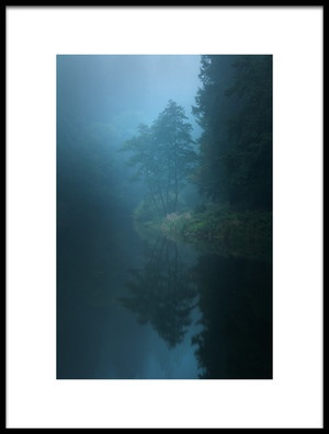 Buy this art print titled Nameless Lake by the artist Milos Lach