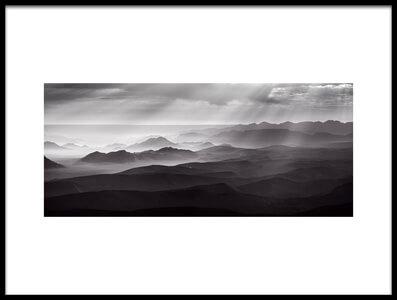 Buy this art print titled Namib Desert by Air by the artist Richard Guijt