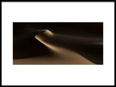 Buy this art print titled Natural Curves (Namib Desert) by the artist Xenia Ivanoff-Erb