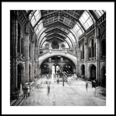Buy this art print titled Natural History Museum of London by the artist Santiago Pascual Buye