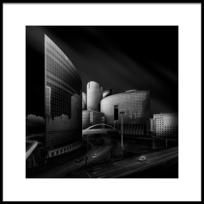 Art print titled Near Future by the artist Javier de la Torre