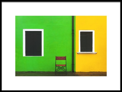 Art print titled Neighbours by the artist Samir Pajić
