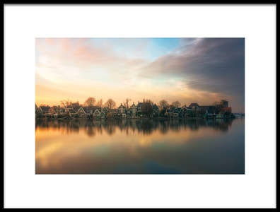 Art print titled Netherlands Somewhere by the artist joanaduenas