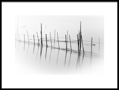 Art print titled Nets by the artist Alejandro Canals