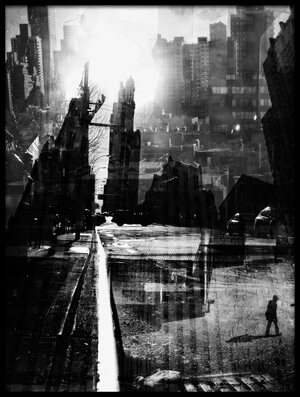 Buy this art print titled New York Gutter by the artist V B