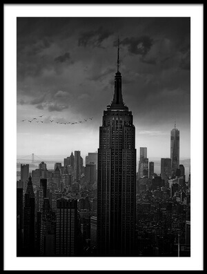 Buy this art print titled New York Rockefeller View by the artist Wim Schuurmans
