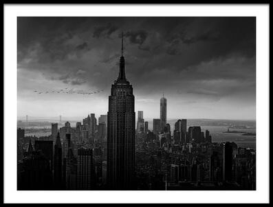 Buy this art print titled New York Rockefeller View II by the artist Wim Schuurmans