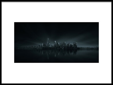Buy this art print titled New York Skyline by the artist Miguel Angel Martin Campos