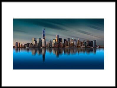 Art print titled New York World Trade Center 1 by the artist Yi Liang