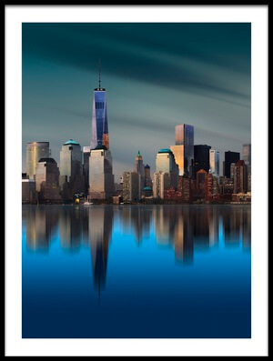 Buy this art print titled New York World Trade Center 1 II by the artist Yi Liang