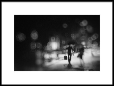 Art print titled Night by the artist Teruhiko Tsuchida