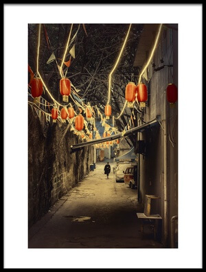 Buy this art print titled Night by the artist 老T
