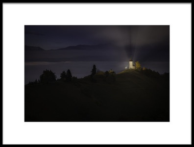 Art print titled Night Jamnik by the artist Marian Kuric