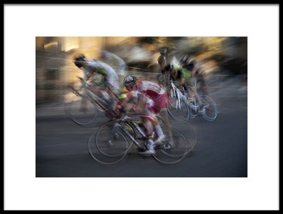 Art print titled Night Race by the artist milan malovrh