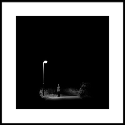 Art print titled Night Stories No. 1 by the artist Radek Štandera