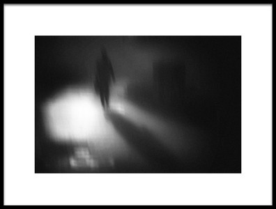 Art print titled Night Street by the artist Teruhiko Tsuchida