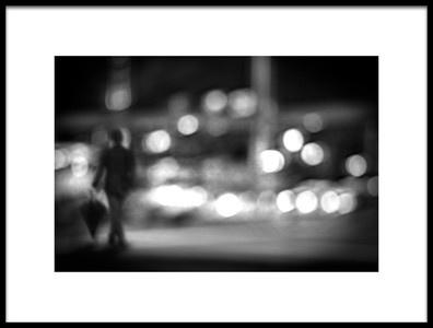 Art print titled Night Streets by the artist Teruhiko Tsuchida