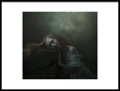Art print titled Nina by the artist Ewa Cwikla